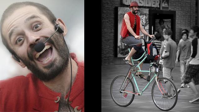 face-bike